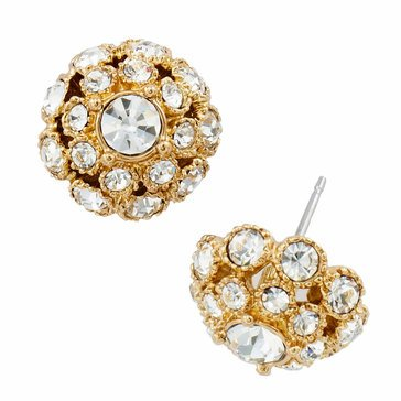 Kate Spade Gold Tone 'Putting On The Ritz' Studs