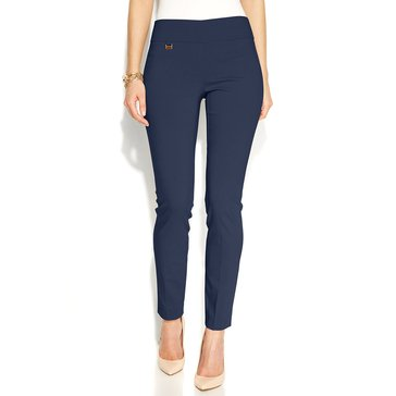 Alfani Short Length Pull-On Pant - Modern Navy