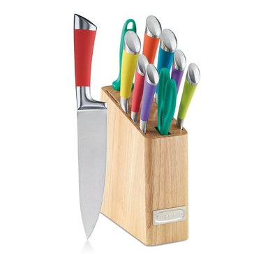 Cuisinart Arista 11-Piece Stainless Steel Color Cutlery Block Set