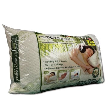 As Seen On TV Bamboo Memory Foam Pillow