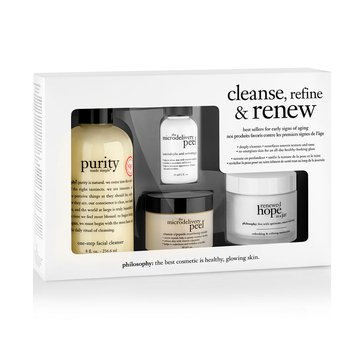 Philosophy Cleanse, Rinse and Renew Kit
