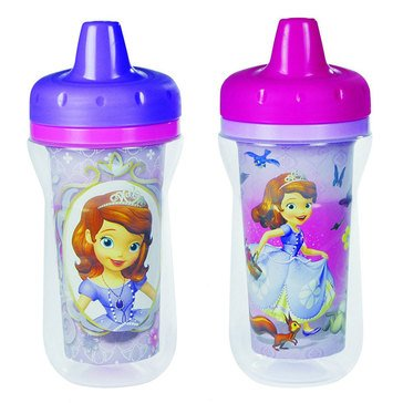 Disney's Sofia Insulated Sippy Cup, 2-Pack