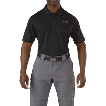 5.11 Tactical Men's Pinnacle Polo, Black