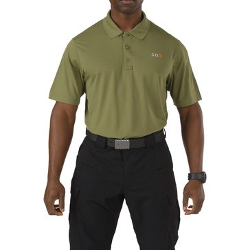 5.11 Tactical Men's Pinnacle Polo, Fatigue