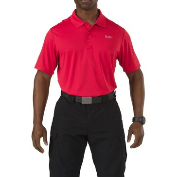 5.11 Tactical Men's Pinnacle Polo, Red