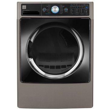 Kenmore Elite 7.4-Cu.Ft. Front Load Electric Dryer w/ Steam, Metallic (26-81583)