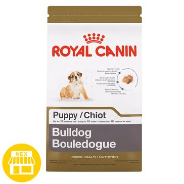 Royal Canin Bulldog Puppy Dry Dog Food, 30 lbs.