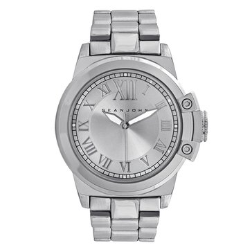 Sean John Men's Stainless Steel Bracelet Watch 47mm