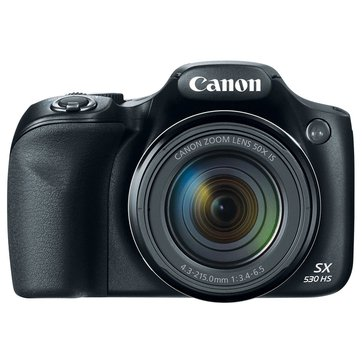 Canon PowerShot SX530 HS 16 MP Digital Camera with 50X Zoom