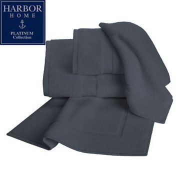 Platinum Collection Hand Towel, Charcoal