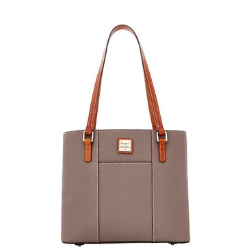 Dooney & Bourke Pebble Small Lexington Shopper Elephant Tote