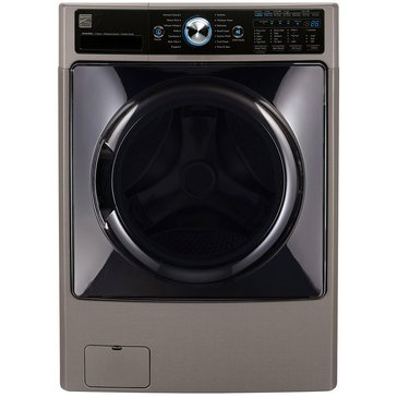 Kenmore Elite 4.5-Cu.Ft. Front-Load Washer w/Steam & Accela Wash, Metallic (26-41583)