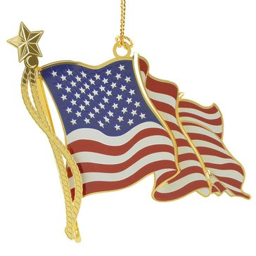 Chemart Americana Flag Ornament