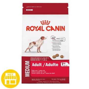 Royal Canin Medium Adult 7 Plus Dry Dog Food, 30 lbs.