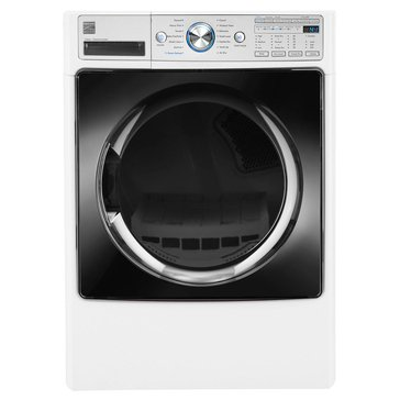 Kenmore Elite 7.4-Cu.Ft. Front Load Electric Dryer w/ Steam, White (26-81582)