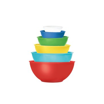Martha Stewart Collection Melamine Bowls, Set of 6