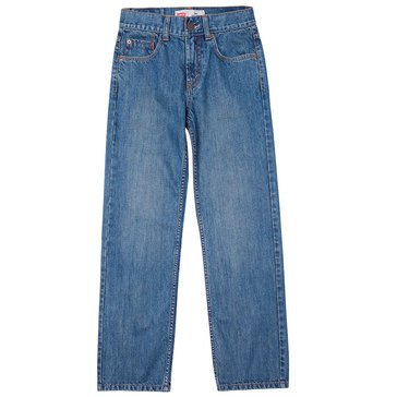 Levi's Big Boys' 550 Regular Jeans Clean Crosshatch, Size 18