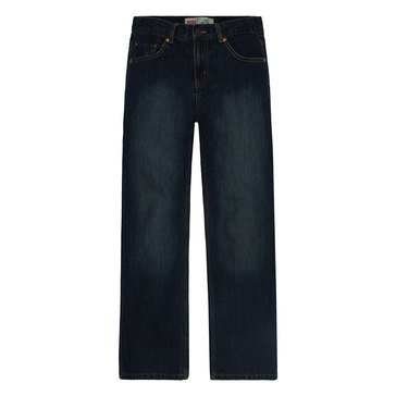 Levi's Big Boys' 550 Relaxed Jeans Dark Crosshatch, Size 20