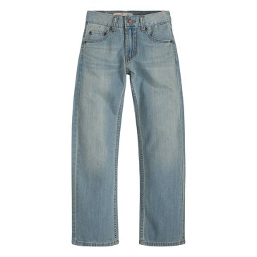 Levi's Big Boys' 505 Regular Anchor Jeans