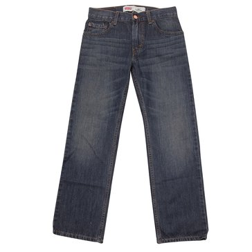 Levi's Big Boy's 505 Regular Fit Jeans