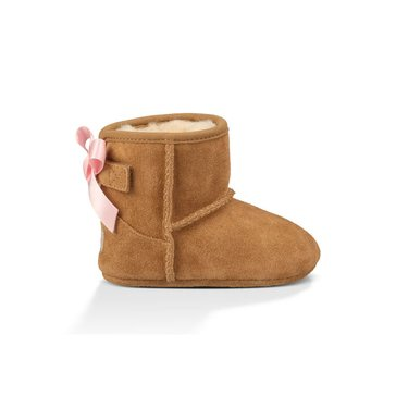 UGG Jesse Bow Girl's Casual Boot-Chestnut