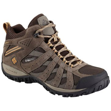 Columbia Redmond Mid Men's Trail Shoe-Cordovan/Dk Banana