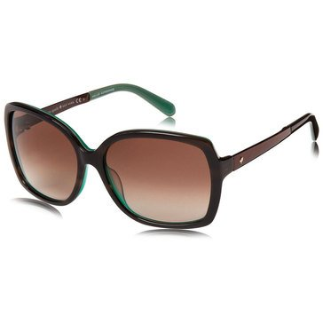 Kate Spade Women's Darilynn Brown Horn Jade Sunglass