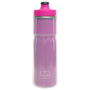Nathan Fire & Ice Insulated Water Bottle 20oz - Pink