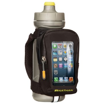 Nathan QuickView Bottle/Phone Carrier 22oz - Black