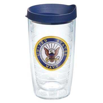Tervis Tumbler USN Seal 16 Oz Tumbler With Lid