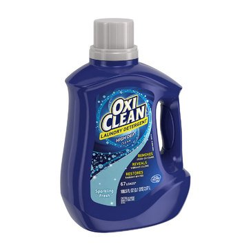 OxiClean Sparkling Fresh Liquid Laundry Detergent, 100.5oz