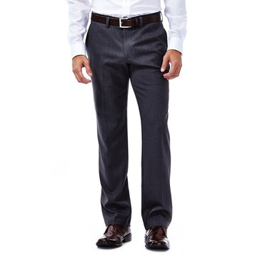 HAGGAR PANTS PERFORMANCE MICRO SLIMFIT GREY BAS_D