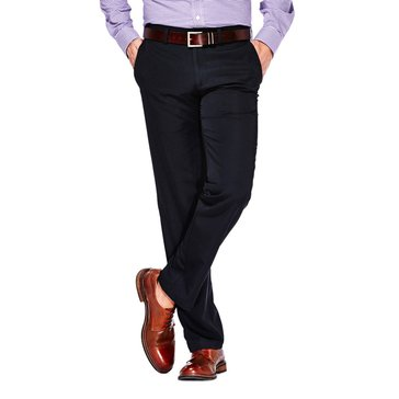HAGGAR PANTS PERFORMANCE MICRO SLIMFIT BLACK BAS_D