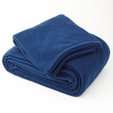 Berkshire Fleece Blanket, Royal Blue - King