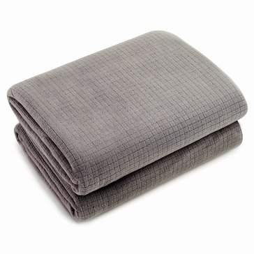 Berkshire Polartec Softec Blanket, Charcoal - Twin