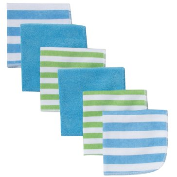 Gerber Baby Boys' 6-Pack Washcloths