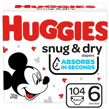 Huggies Snug & Dry - Size 6, Giant Pack 112-Count