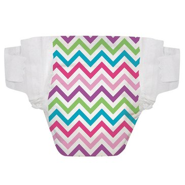 The Honest Company Diapers, Chevron - Size N, 40-Count