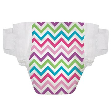 The Honest Company Diapers, Chevron - Size 3, 34-Count