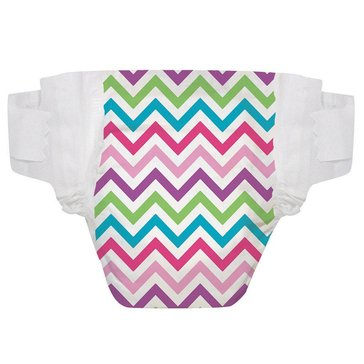 The Honest Company Diapers, Chevron - Size 4, 29-Count