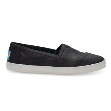 Toms Coated Canvas Avalon Women's Slip On Shoe