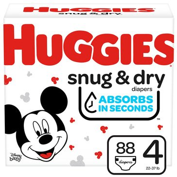 Huggies Snug & Dry - Size 4, Super Pack 112-Count