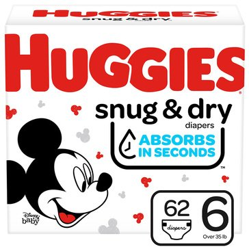 Huggies Snug & Dry - Size 6, Super Pack 80-Count