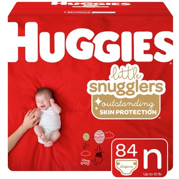 Huggies Supreme Little Snugglers - Size Newborn, Super Pack 88-Count