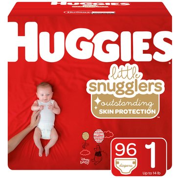 Huggies Supreme Little Snugglers - Size 1, Super Pack 100-Count