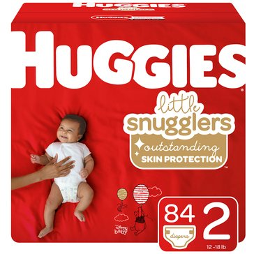 Huggies Supreme Little Snugglers - Size 2, Super Pack 92-Count