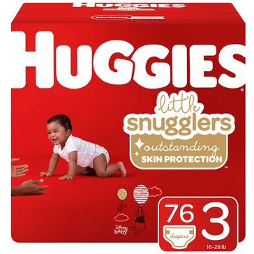 Huggies Supreme Little Snugglers - Size 3, Super Pack 88-Count