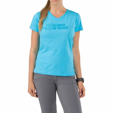 5.11 Women's ABR Short Sleeve Logo Tee