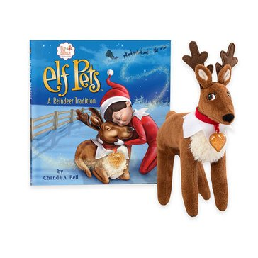 Elf Pets: A Reindeer Tradition Book & Reindeer Set