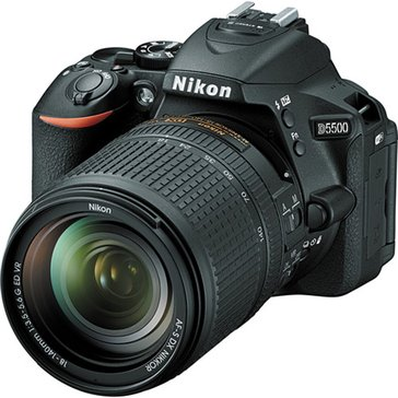 Nikon D5500 DSLR Camera with 18-140mm Lens & Built-in WiFi